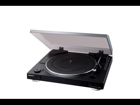 Виниловый проигрыватель Sony PS-LX300USB | Обзор