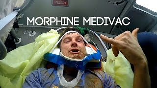 Wait until the Morphine Hits -GoPro Triathlon Fail