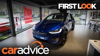 2017 Tesla model X First Look Review | CarAdvice