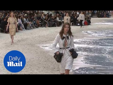 Chanel's SS19 'By The Sea' themed show during Paris Fashion Week