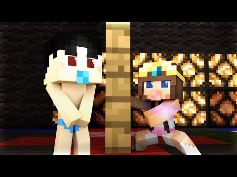 Minecraft - WHO'S YOUR MOMMY? - BABY NAKED DANCE! thumbnail