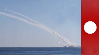 Russia 'launches first cruise missiles at ISIL from submarine', Syria