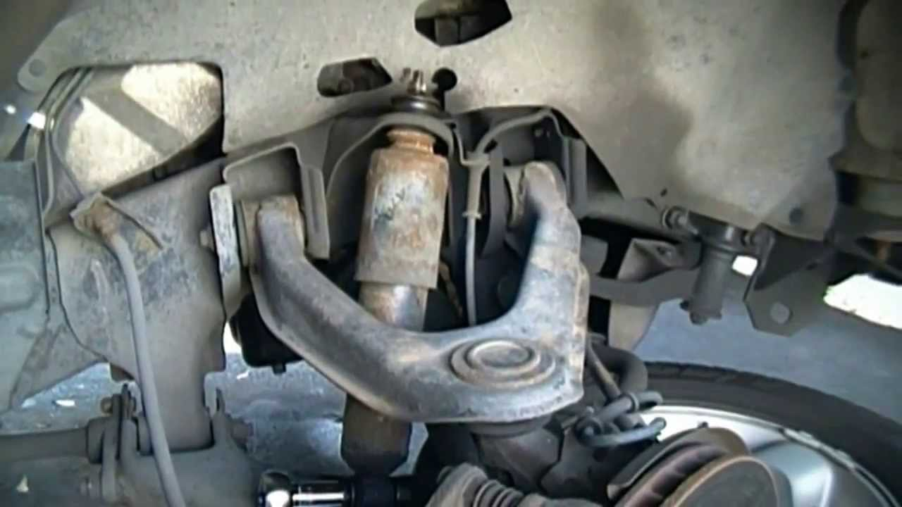 2003 Nissan Xterra Front Shock Replacement  YouTube