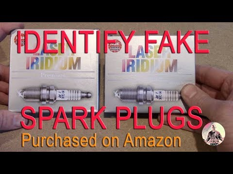 Fake Counterfeit NGK Spark Plugs Sold On Amazon - How To Identify