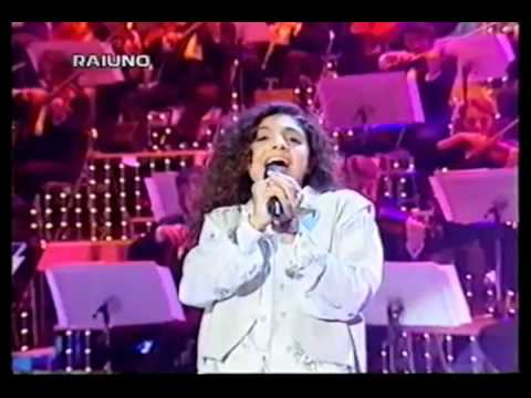 Adriana Ruocco - Saro' bellissima - Sanremo - 1996