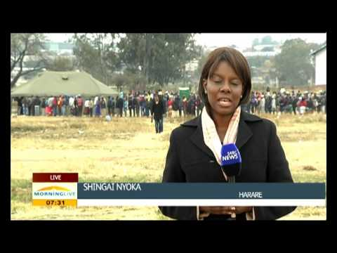 Polling stations in Zimbabwe opened on time