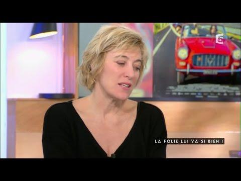 Valerie Bruni-Tedeschi, la folie lui va si bien - C à vous - 03/06/2016