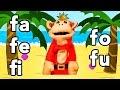 S�labas fa fe fi fo fu - El Mono S�labo - Videos Infantiles - Educaci�n para Ni�os #
