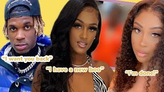 Nique has a new celebrity boo! Plus King wants Nique back and his new girlfriend is UPSET!