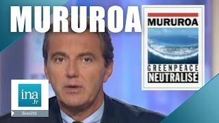 La marine française aborde Greenpeace à Mururoa - Archive INA
