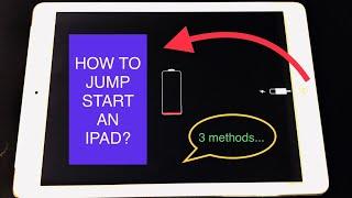 How To Jump Start An iPad?  怎样助推起動iPad?