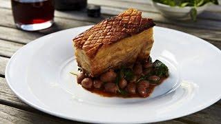 Salt Brined Roasted Pork Loin