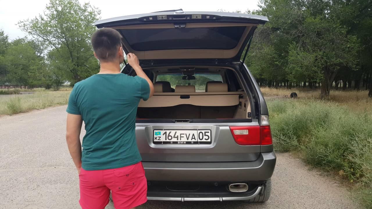 автоматическое открытие багажника bmw e53