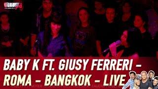 Baby K ft. Giusy Ferreri -  Roma - Bangkok - Live - C'Cauet sur NRJ