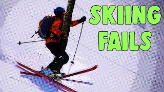 Funny Skiing Fail Compilation - The Most Crazy and Stupid Fails EVER!!