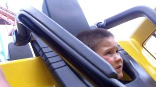 jake s first roller coaster ride the carolina cobra carowinds 2010
