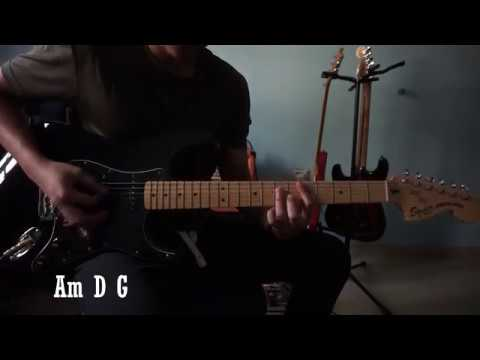 Kugiran Masdo - Teruna & Dara (Guitar Cover w/ SOLO + EASY Chord)