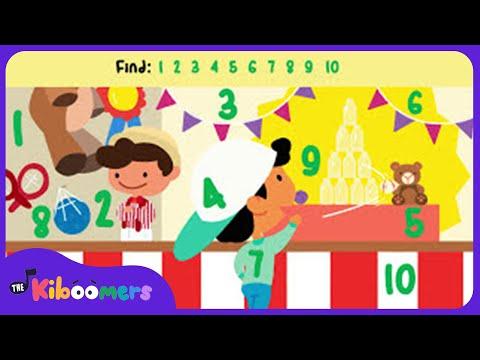 10 Green Bottles of Pop | Kids Song | Kids Game | The Kiboomers