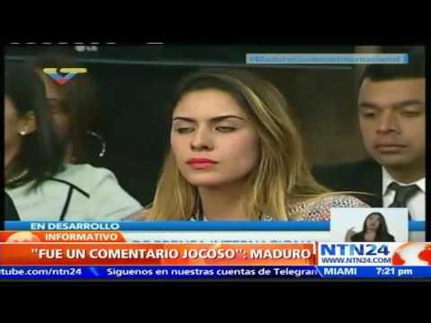 Maduro asegura que la propuesta de canje de Leopoldo López por López Rivera fue un comentario jocoso