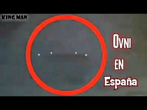 OVNI de grandes dimensiones grabado en Barcelona España