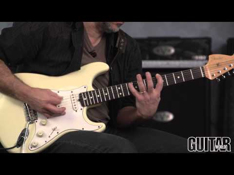How to Play Like Chuck Berry and Joan Jett - Andy Aledort Guitar Lesson!