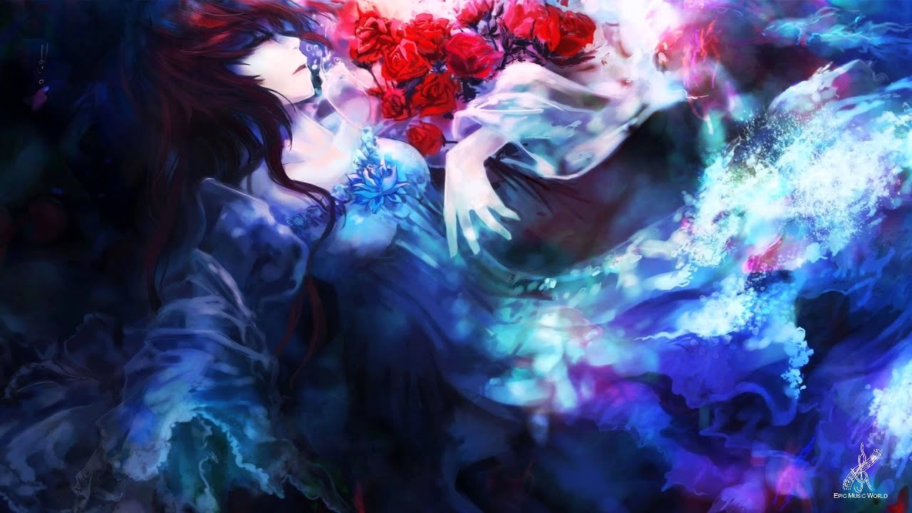 Wallpaper Anime Girl Cool C21fx Blood Red Roses Epic Vocal Emotional Youtube