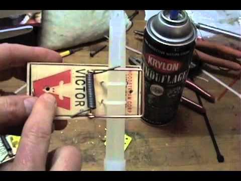 how to build a tripwire trap