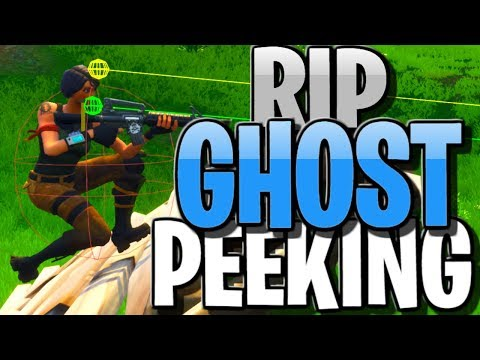 GHOST PEEKING REMOVED FROM FORTNITE | PATCH V5.1