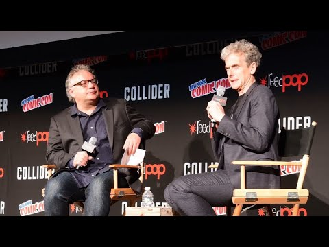 PETER CAPALDI'S LAST PANEL as the Doctor at NYCC