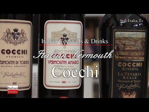 """Italian Gentleman""  - ""Cocchi"" - Vermouth & ""Barolo Chinato""  Italian Cocktail"" & Vermouth"