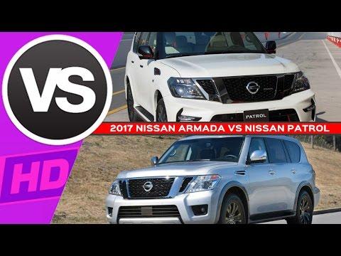 Nissan Armada Interior Pictures - 2017 NISSAN ARMADA VS NISSAN PATROL COMPARISON