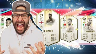 OMG YES! HIGHEST RATED ICON DRAFT! FIFA 19 Ultimate team