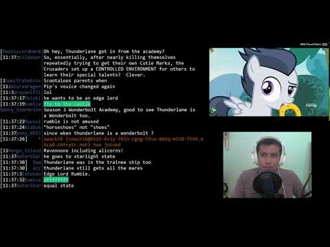 """[MLP BLIND] S7 E21 - """"Marks and Recreation"""" - Chat Reaction Commentary"""