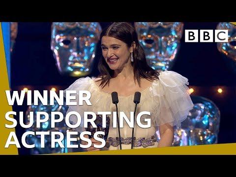 Rachel Weisz wins Supporting Actress BAFTA 2019 🏆- BBC thumbnail