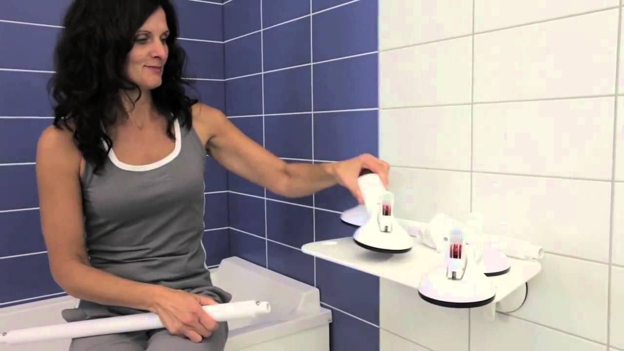 Soluzioni e maniglioni a ventosa per vasca da bagno youtube - Paraspruzzi per vasca da bagno ...