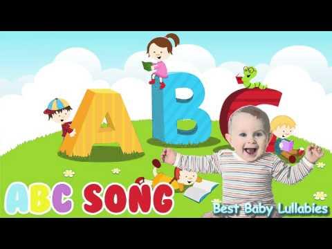 ♥ ABC Songs To Put A Ba To Sleep LyricsBa Lulla Lullabies for Bedtime Fisher Price  ♥