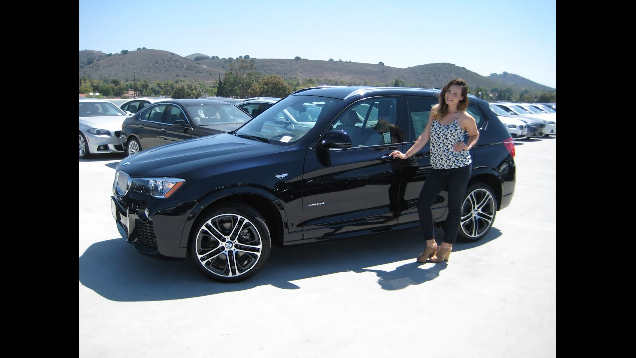 "new bmw x3 xdrive 28i m sport 20"" m wheels review - youtube"