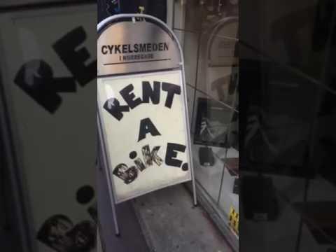 Trying to Rent a Bike in Copenhagen