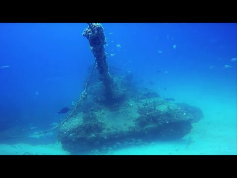 Scuba Diving Army Tanks off of Key Biscayne, Miami