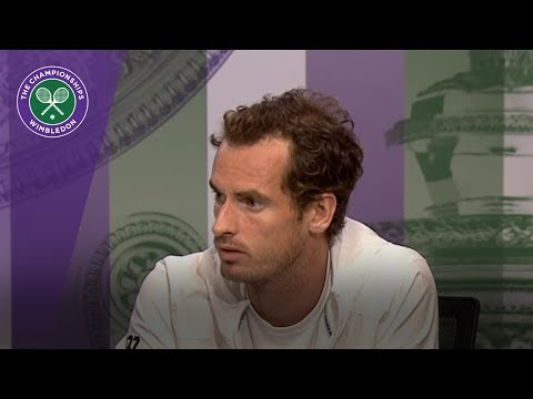 Andy Murray Wimbledon 2017 fourth round press conference