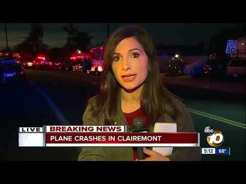 Plane has crashed in Clairemont area
