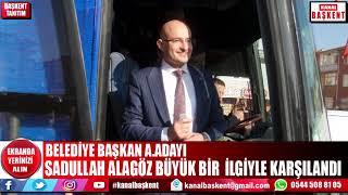 Ak Parti Kahramankazan belediye başkan. a.adayı Sadullah Alagöz seçim koordinasyon merkezini açtı