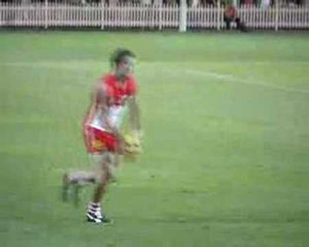 Jesse White first goal
