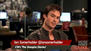 Ian Somerhalder on Huffington Post Live Full Interview