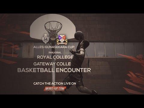 Inaugural Royal College vs Gateway College Basketball Encounter