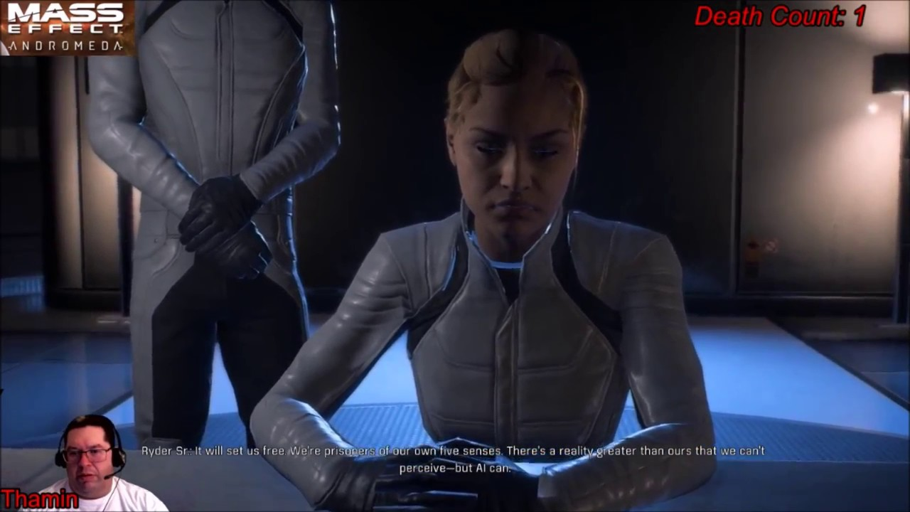 Mass Effect Andromeda Sam Is An Ai Youtube