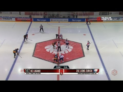 CHL - Round of 16  First Game - HC Lugano vs. ZSC Lions Zurich - 01.11.2016