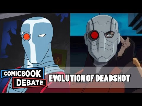 Evolution of Deadshot in Cartoons Movies & TV in 8 Minutes 2018