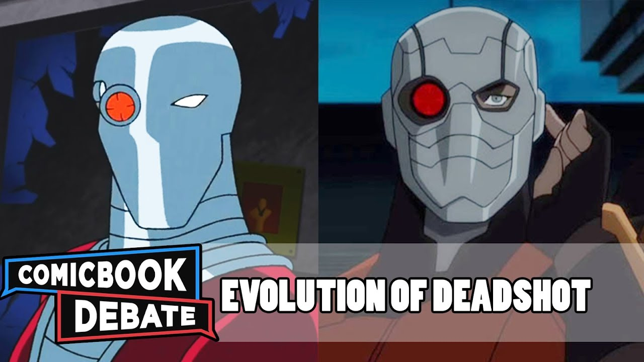 Download Evolution of Deadshot in Cartoons, Movies & TV in 8 Minutes (2018)
