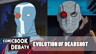 Evolution of Deadshot in Cartoons, Movies & TV in 8 Minutes (2018)
